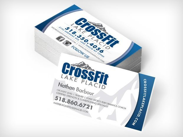 Crossfit Lake Placid – Business Cards