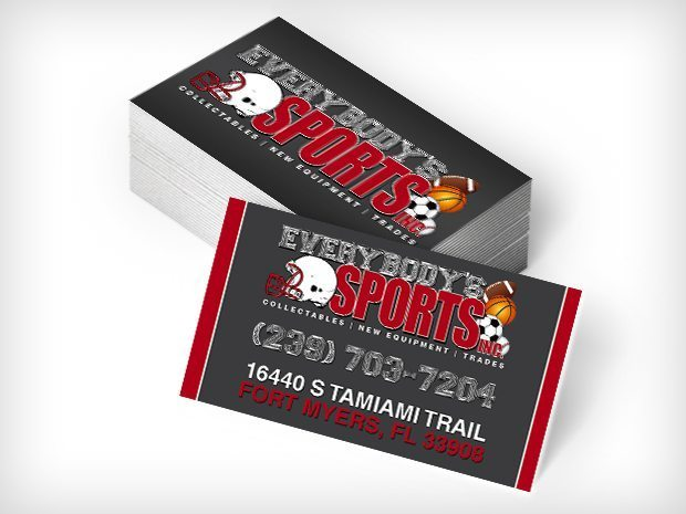 Everybody Sports – Business Cards