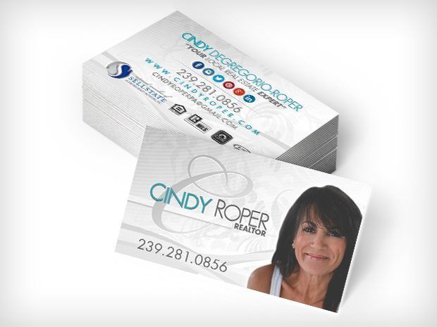 Sellstate Realty (Cindy Roper, Realtor) – Business Cards
