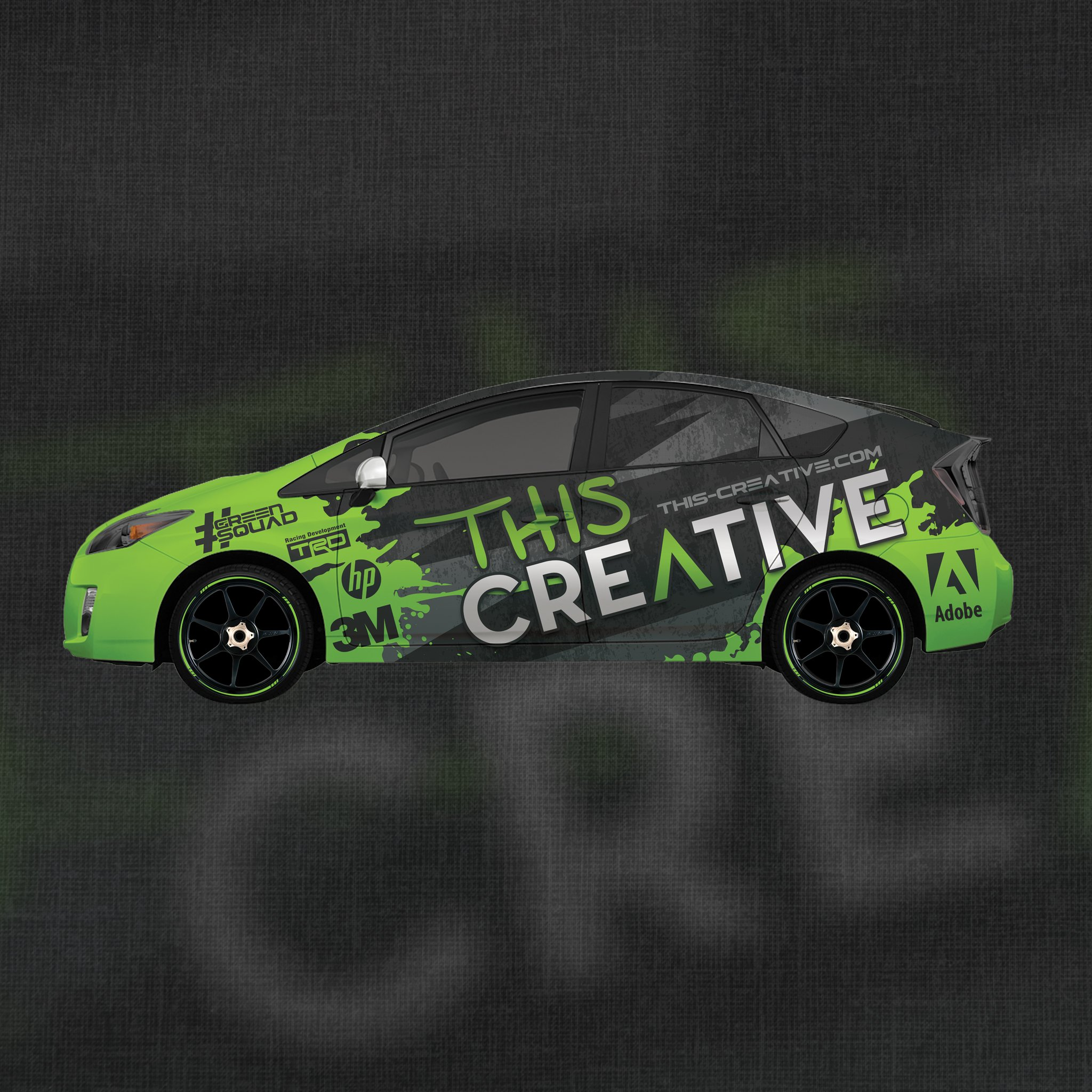This creative vehicle wraps 2394371010
