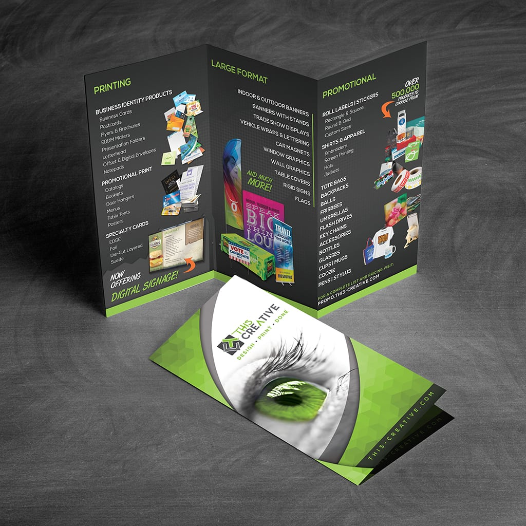 & Flyers and Brochures - This Creative