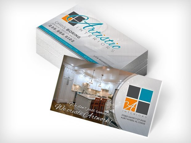 Artistic Interiors – Business Cards