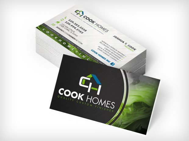 Cook Homes – Business Cards