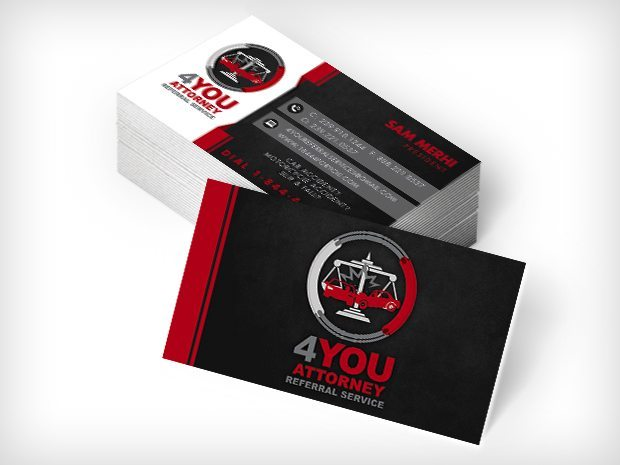 4You Attorney Referral Service – Business Cards
