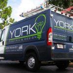 York Electric Van Vehicle Wrap