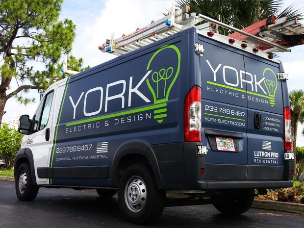 York Electric Van Vehicle Wrap