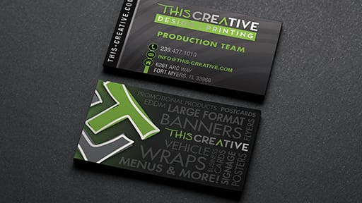 Standard Business Cards This Creative